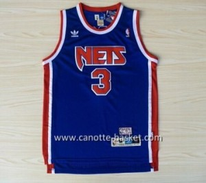 Maglie nba Brooklyn Nets Drazen Petrovic #3 blu