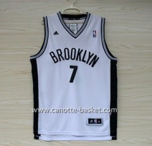 Maglie nba Brooklyn Nets Larry Johnson #7 bianco
