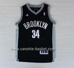 Maglie nba Brooklyn Nets Paul Pierce #34 nero