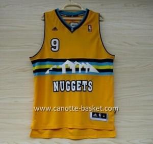 Maglie nba Denver Nuggets Danilo Andre Iguodala #9 giallo