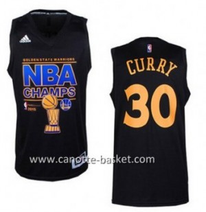 nuovo Maglie nba Golden State Warriors Stephen Curry #30 2015 Season campionato