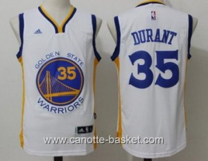 Maglie Golden State Warriors Kevin Durant #35 bianco
