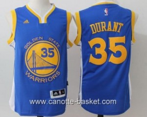 Maglie Golden State Warriors Kevin Durant #35 blu