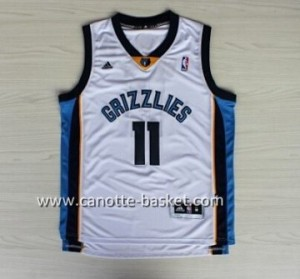 nuovo Maglie nba Memphis Grizzlies Mike Conley #11 bianco