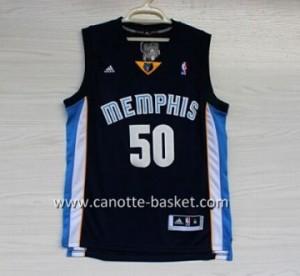 Maglie nba Memphis Grizzlies Zach Randolph #50 blu marino