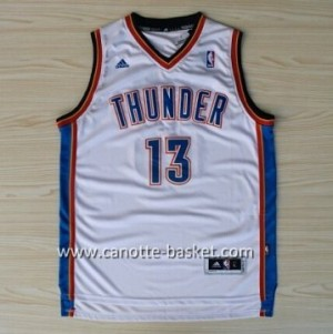 Maglie nba Oklahoma City Thunde James Harden #13 bianco