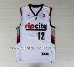 Maglie nba Portland Blazers Dwight Aldridge #12 bianco