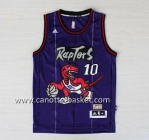 Maglie nba Toronto Raptors DeMar DeRozan #10 porpora