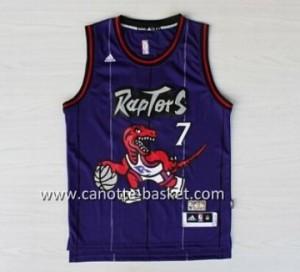 Maglie nba Toronto Raptors Kyle Lowry #7 porpora