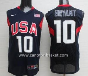 Maglie basket 2008 USA Kobi bryant # 10 nero