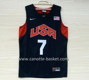 Maglie basket 2012 USA Russell Westbrook #7 nero