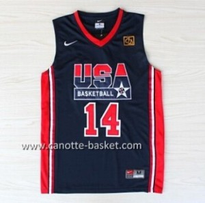 maglie basket 1992 USA Charles Barkley #14 blu