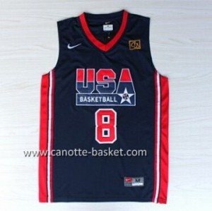 maglie basket 1992 USA Scottie Pippen #8 blu