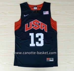 Maglie basket 2012 USA Chris Paul #13 nero