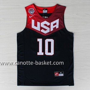 Maglie basket 2014 USA Kyrie Irving #10 nero