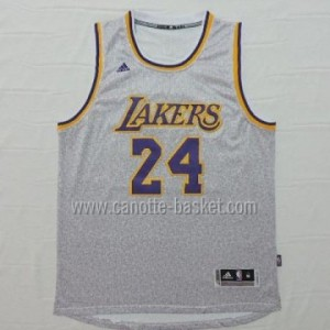 nuovo Maglie nba Los Angeles Lakers Kobe Bryant #24 grigio