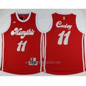 nuovo Maglie nba Memphis Grizzlies Mike Conley #11 rosso
