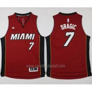 nuovo Maglie nba Miami Heat Goran Dragic #7 rosso