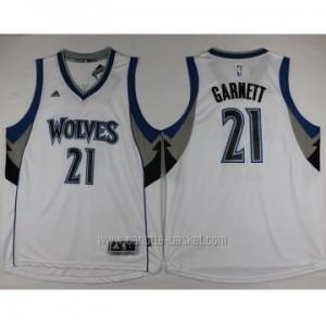 nuovo Maglie nba Minnesota Timberwolves Kevin Garnett #21 bianco