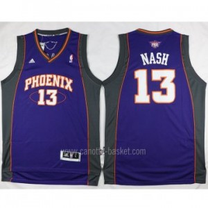 nuovo Maglie nba Phoenix Suns Steve Nash #13 porpora