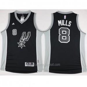 nuovo Maglie nba San Antonio Spurs Patty Mills #8 nero