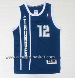 Maglie nba Oklahoma City Thunde Steven Adams #12 blu