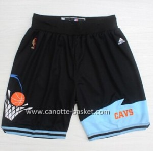 pantaloncini nba Cleveland Cavalier Retro nero