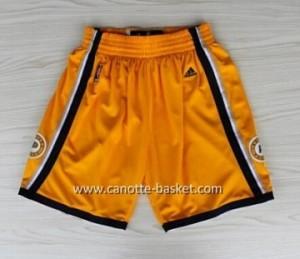 pantaloncini nba Indiana Pacers giallo