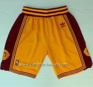 pantaloncini nba Cleveland Cavalier giallo