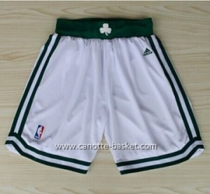 pantaloncini nba Boston Celtics bianco