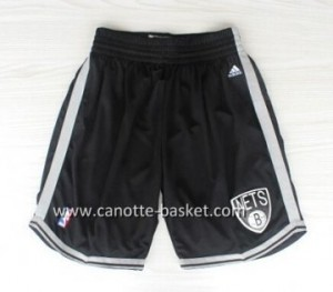 pantaloncini nba Brooklyn Nets nero