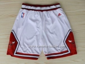 pantaloncini nba Chicago Bulls bianco