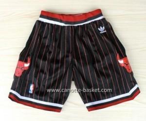 pantaloncini nba Chicago Bulls strisce nero rosso