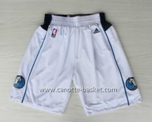 pantaloncini nba Dallas Mavericks bianco