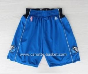 pantaloncini nba Dallas Mavericks blu