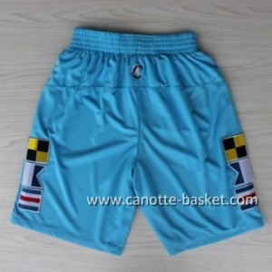 pantaloncini nba Los Angeles Clippers ABA blu