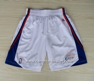 pantaloncini nba Los Angeles Clippers bianco