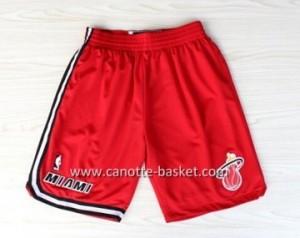 pantaloncini nba Miami Heat rosso