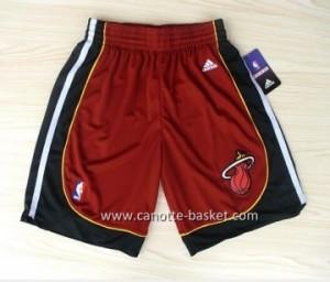 pantaloncini nba Miami Heat nuovi tessuti rosso