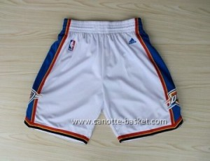 pantaloncini nba Oklahoma City Thunde bianco