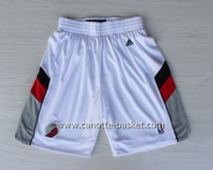 pantaloncini nba Portland Blazers Retro bianco