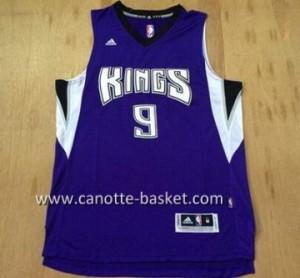 Maglie nba Sacramento Kings Rajon Rondo #9 porpora