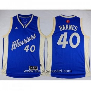 Maglie nba 2015-2016 Natale Golden State Warriors Harrison Barnes #40