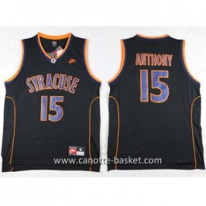 Maglie nba NCAA Anthony University Carmelo Anthony #15 nero