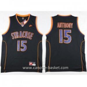 Maglie nba NCAA Anthony University Carmelo Anthony #15 nero