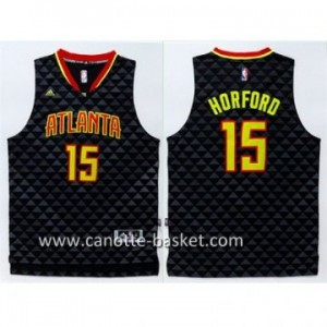 Maglie nba Atlanta Hawks Al Horford #15 nero