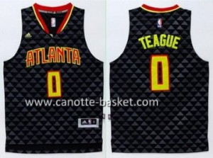 Maglie nba Atlanta Hawks Jeff Teague #0 nero