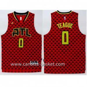 Maglie nba Atlanta Hawks Jeff Teague #0 rosso