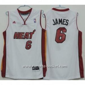 Maglie bambino Miami Heat LeBron James #6 bianco