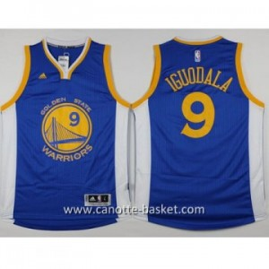 nuovo Maglie nba Golden State Warriors Andre Iguodala #9 blu 14-15 stagione